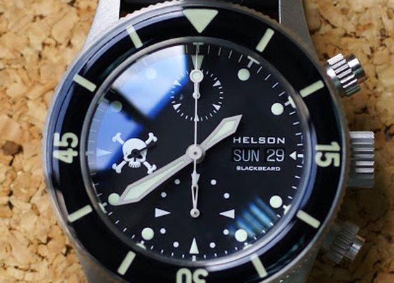 OceanicTime: HELSON Blackbeard CHRONO
