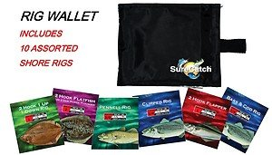 Rig Wallet Includes 10 Assorted Shore Rigs