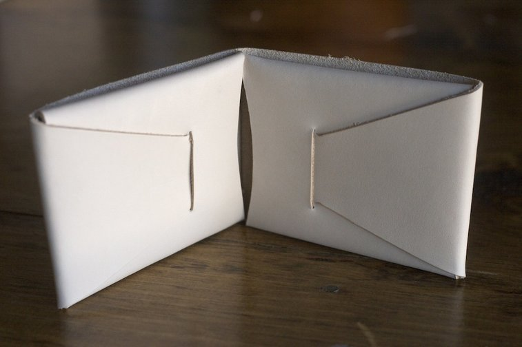 Corter Leather — Folded Bifold