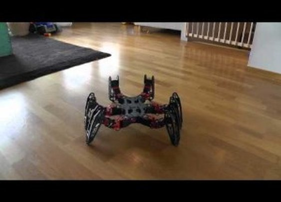 PhantomX Hexapod Robot Demo