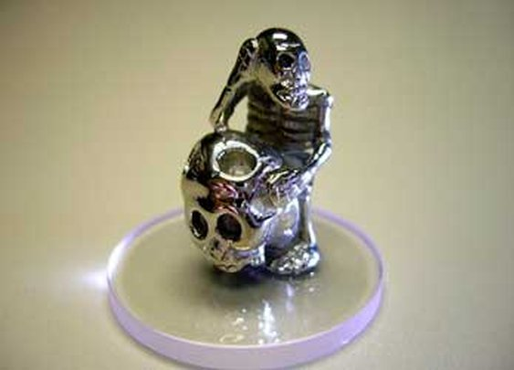 CountyComm - Ponderer Stainless Steel Figurine