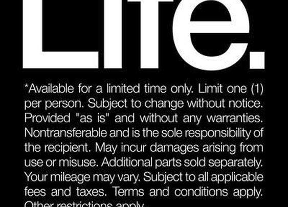 Life* (read the fine print)