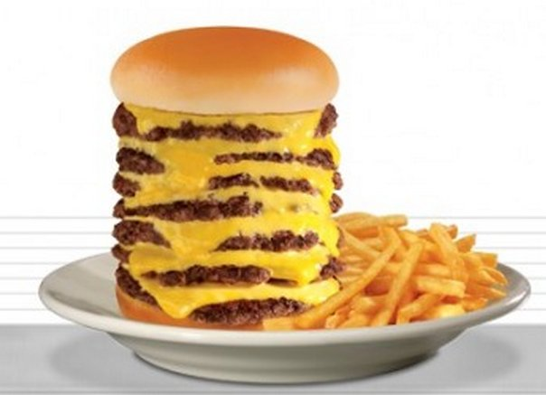A Seven Patty 7×7 Steakburger Offered at Steak 'n Shake, Costs $7.77