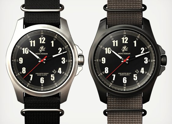 Minuteman Watches | Cool Material