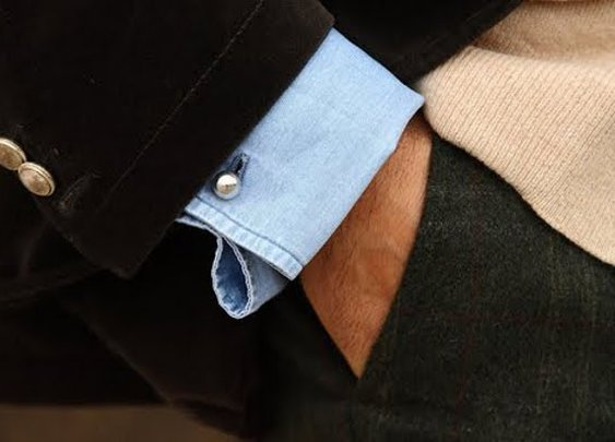 Five ways to wear cufflinks