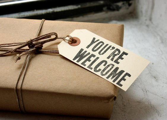 You're Welcome Gift Tags | That Should Be Mine