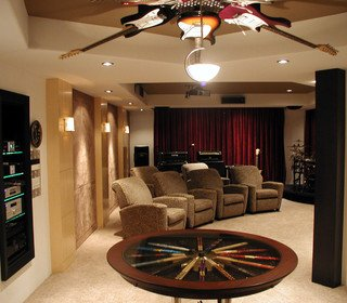 Man Cave & Music Room