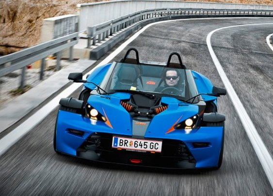KTM X-Bow GT Pushes Boundaries of Grand Touring Name – News –Car and Driver   Car and Driver Blog