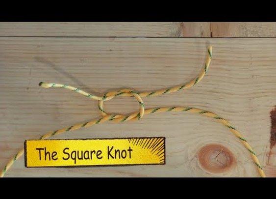 9 Basic Knots  - YouTube