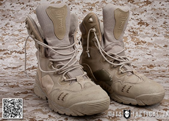 Magnum Spider 8.1 Desert HPi Boots, Built for Fast Roping and Hard Use