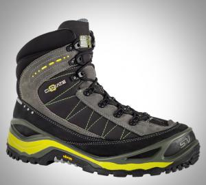 Hiking Boot with Hidden Fire Starter Kit