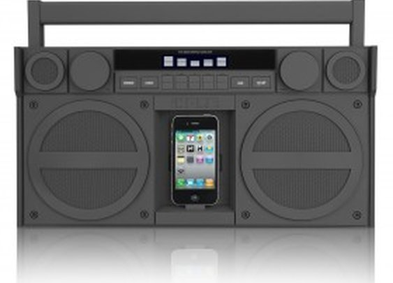 iHome Speaker Dock Boombox | Cheaper Than A Shrink