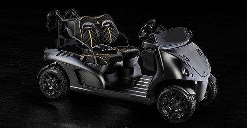 Garia Mansory Currus - Garia Luxury Golf Car