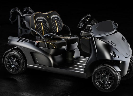 Garia Mansory Currus - Garia Luxury Golf Car
