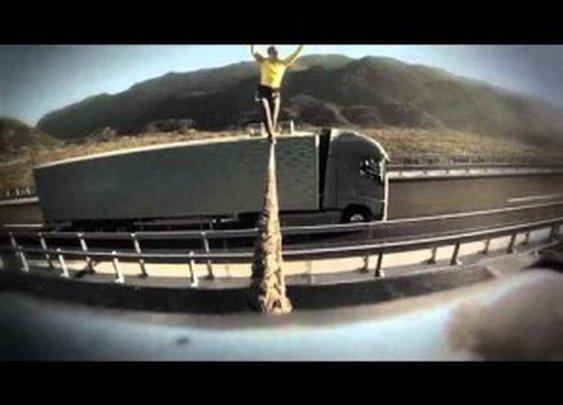 Volvo Trucks: Ballerina Stunt | ClickExist