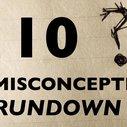 10 Misconceptions Rundown - YouTube