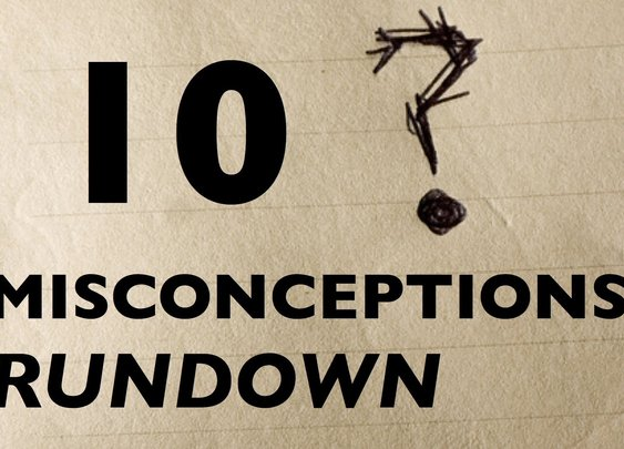 10 Misconceptions Rundown - YouTube