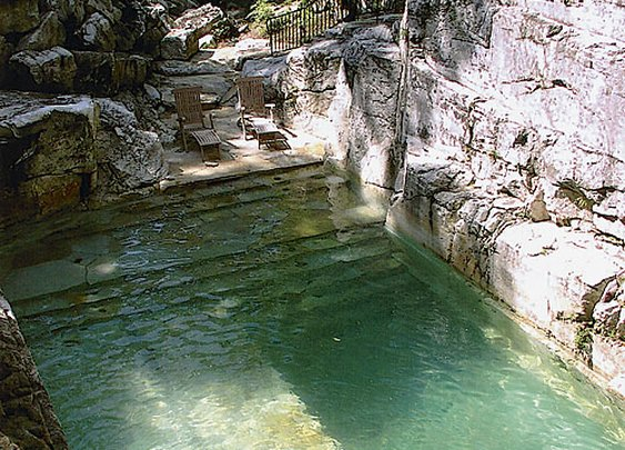 Old Quarry Converted to a Pool