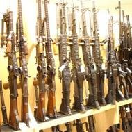 The Bureau of Alcohol, Tobacco and Firearms Gun Room
