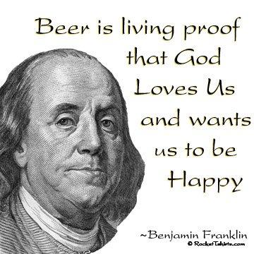 Ben Franklin always got it right.