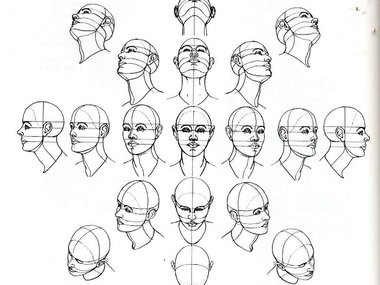 Tutorial Vid: Draw a Human Head From Any Angle | ExistentiARTism Zine