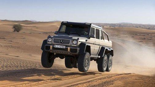 Mercedes-Benz reveals the G63 AMG 6×6, a six-wheel-drive luxo SUV | Motoramic - Yahoo! Autos