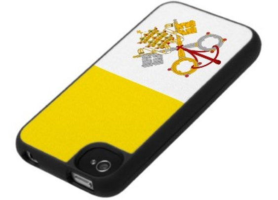 Vatican City Flag iPhone Cover from Zazzle.com