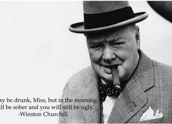 Favourite Winston Churchill Quotes #1