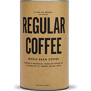 Regular is the new Awesome... In a tube. | Regular Coffee