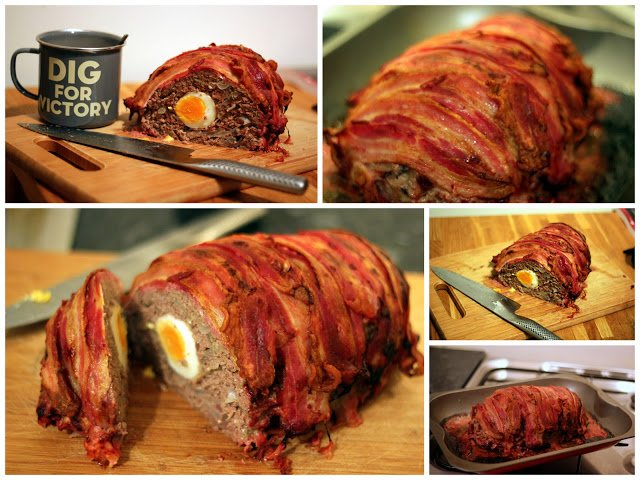 Modern Paleo Warfare: Paleo Protein Meat loaf (aka I would do anything for Paleo...but I won't do that...well, actually...)