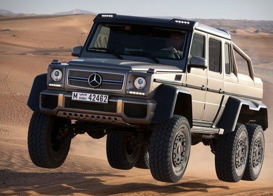Mercedes-Benz G63 AMG 6x6 | Uncrate