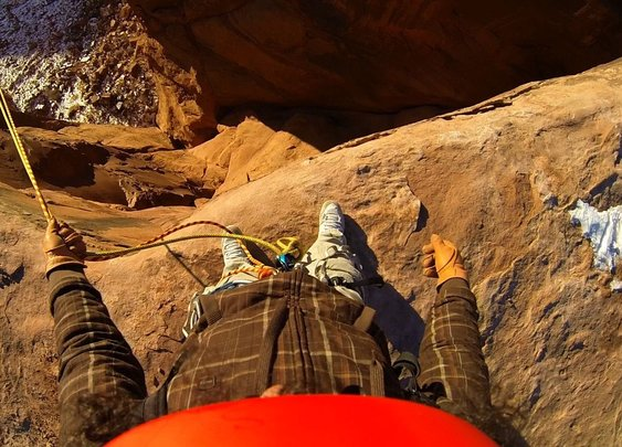 World's Most Insane Rope Swing Ever!!! - Canyon Cliff Jump - YouTube