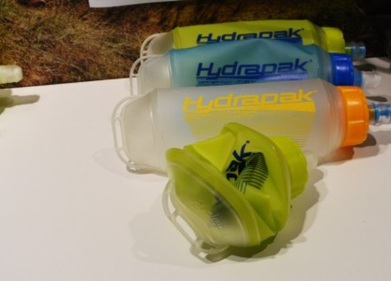 HydraPak's SoftFlask collapsible water bottle