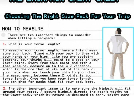 The Backpacking Cheat Sheet | Loaded PocketzLoaded Pocketz