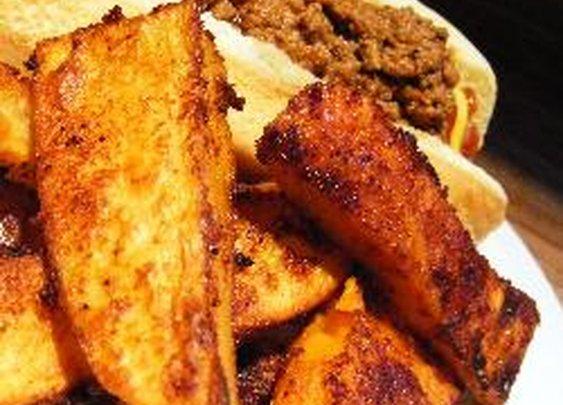 Spicy Potato Wedges