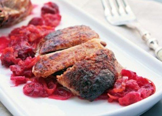 Roasted Duck with Cranberry, Orange & Cardamom Glaze - I Breathe... I'm Hungry...