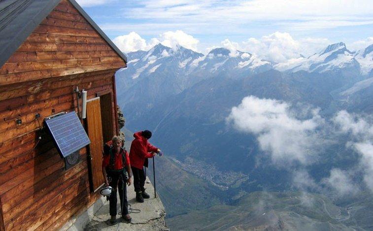 Solvay Hut: Matterhorn, Switzerland