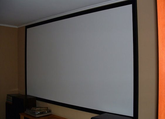 How to Build Your Own Projector Screen