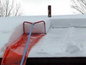 Creative Roof Snow Removal Tool: The Avalanche