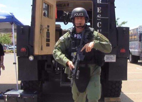 Homeland Security getting 2,700 MRAP's to deliver warrants