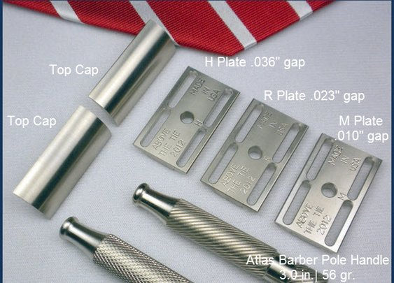 Above The Tie 7-Piece Stainless Steel Razor System | Sharpologist