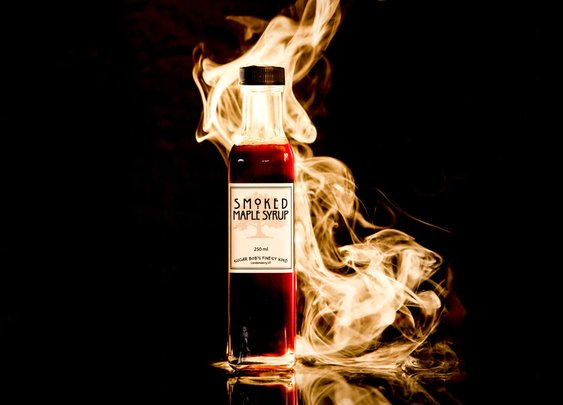 Smoked Maple Syrup | Uncrate