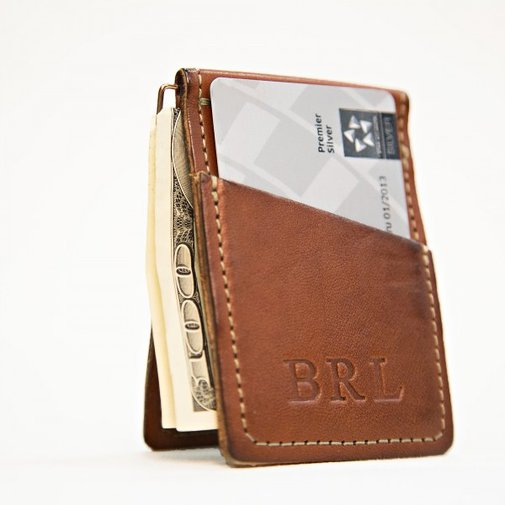 Small Wallet  |  White Wing Label