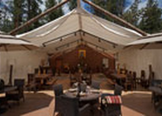 Glamping in Luxury Tents - Moonlight Camp at The Resort at Paws Up