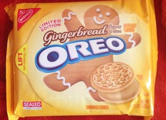 Nabisco Oreo Cookies Gingerbread New Limited Edition Sold Out Exp April 2013 | eBay