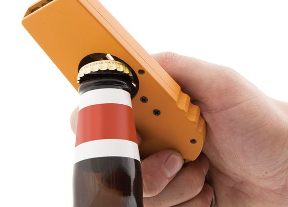Beer cap shooter