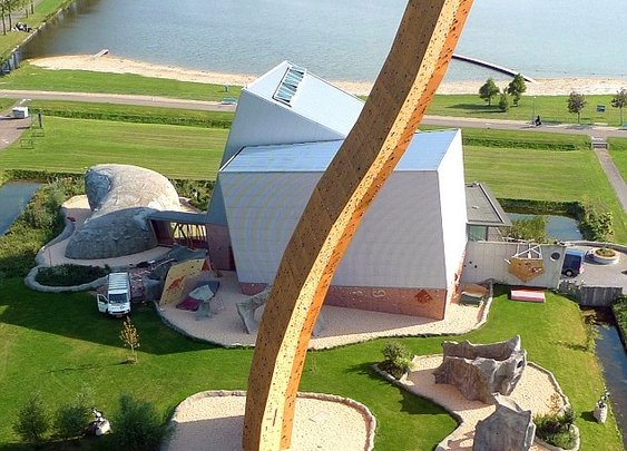 World's Tallest Climbing Wall