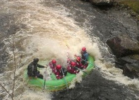 Where to go white water rafting in wales