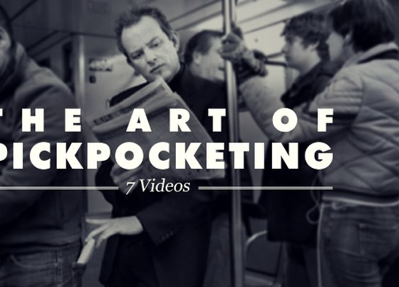 The Art of Pickpocketing: 7 Videos | Cool Material