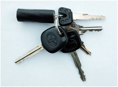 Strobist: Genius: Make a Gaffer's Tape Key Fob